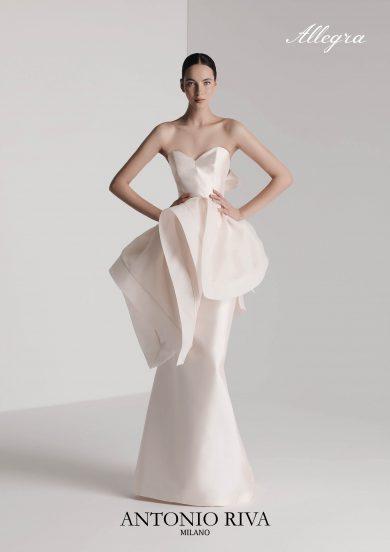 アントニオリーヴァ Antonio Riva ウエディングドレス 結婚式 ドレス ウエディング ネックレスなし